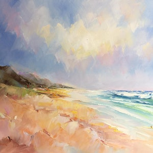 (CreativeWork) Fraser Island # 4 by Liliana Gigovic. oil-painting. Shop online at Bluethumb.