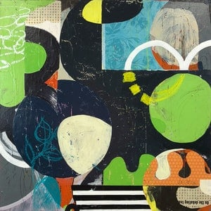 (CreativeWork) Mojito Cure by Jan Allsopp. mixed-media. Shop online at Bluethumb.