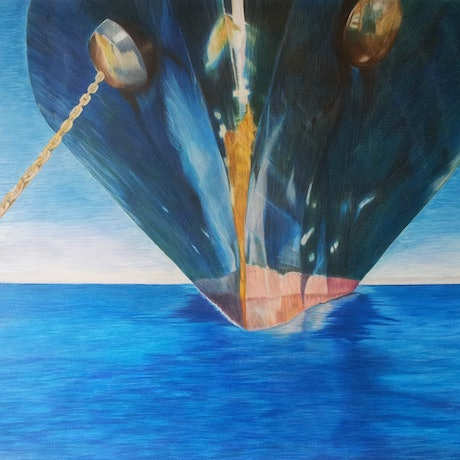 (CreativeWork) ANCHORED by Audrey Attwell. Other Media. Shop online at Bluethumb.