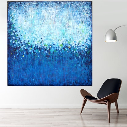 (CreativeWork) Magic Country  by Belinda Nadwie. Oil. Shop online at Bluethumb.