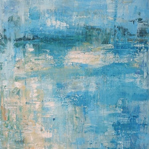 (CreativeWork) Coastal Dreams by Naomi Veitch. arcylic-painting. Shop online at Bluethumb.