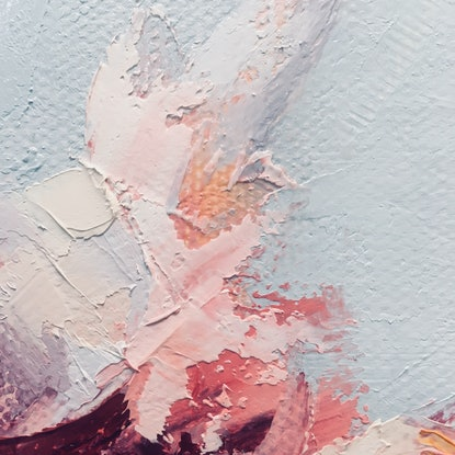 (CreativeWork) Spring Allegro by Jan Brown. Oil Paint. Shop online at Bluethumb.