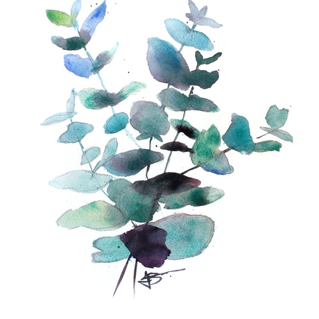 (CreativeWork) Spinning Gum by Jenny Barnes. Watercolour Paint. Shop online at Bluethumb.