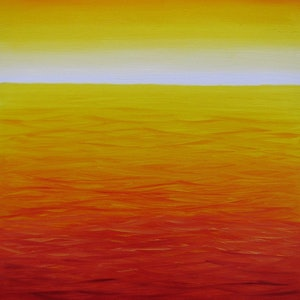 (CreativeWork) Sky on Fire by Elena Parashko. oil-painting. Shop online at Bluethumb.