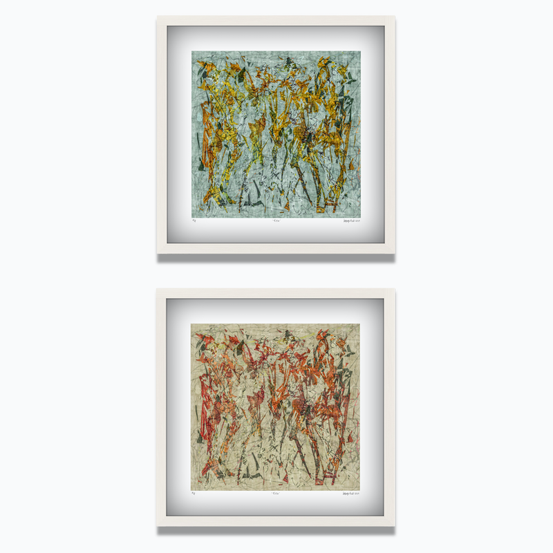 (CreativeWork) 'The Horsemen'  Limited Edition Print Set of 2  Ed. 10 of 100 by George Hall. print. Shop online at Bluethumb.