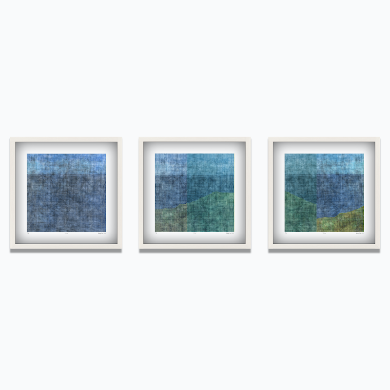 (CreativeWork) 'The Peninsula'  Limited Edition Print Set of 3  Ed. 11 of 100 by George Hall. print. Shop online at Bluethumb.