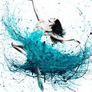 (CreativeWork) Ballerina Waves - Limited Edition Print -  Ed. 8 of 100 by Ashvin Harrison. print. Shop online at Bluethumb.