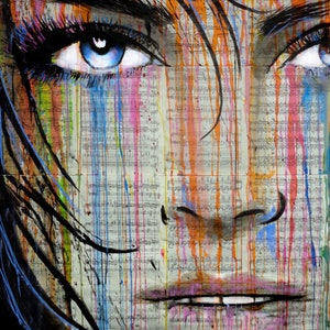 (CreativeWork) BLUE SOUNDS by loui jover. drawing. Shop online at Bluethumb.