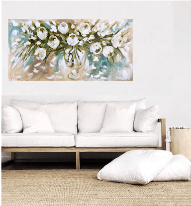 (CreativeWork) Tulip delight  by Amanda Brooks. Acrylic Paint. Shop online at Bluethumb.