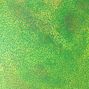 (CreativeWork) Nature's Lace VI - green abstract painting by Jennifer Bell. arcylic-painting. Shop online at Bluethumb.