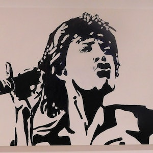 (CreativeWork) Jagger by Deb Krinas. arcylic-painting. Shop online at Bluethumb.