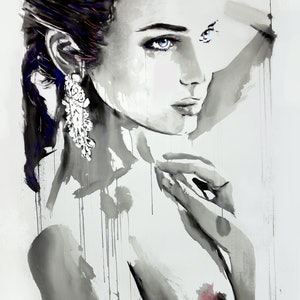 (CreativeWork) DON'T LOOK BACK by loui jover. mixed-media. Shop online at Bluethumb.