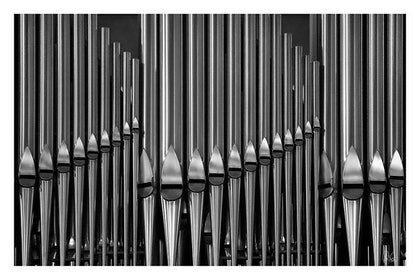 (CreativeWork) P 013.1 Organs silver by Peter Henning. photograph. Shop online at Bluethumb.