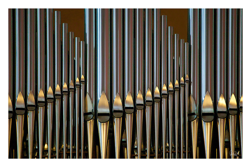 (CreativeWork) P 014 Organpipes by Peter Henning. photograph. Shop online at Bluethumb.