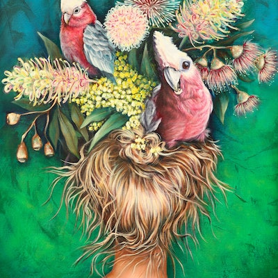 (CreativeWork) 'Birds Nest' - Limited Edition Print #15 of 50 Ed. 15 of 50 by Rachel South. print. Shop online at Bluethumb.