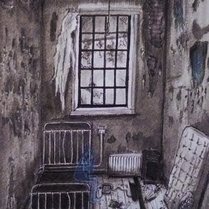 (CreativeWork) Abandoned Room Service I Ed. 6 of 70 by Chelle Destefano. print. Shop online at Bluethumb.