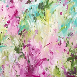 (CreativeWork) Innocent Beginnings by Amber Gittins. arcylic-painting. Shop online at Bluethumb.
