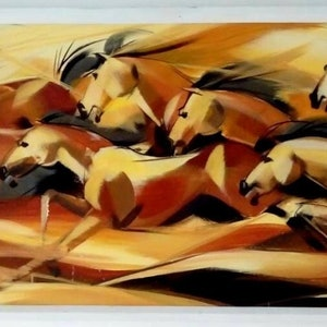 (CreativeWork) Sand Runners  by Nudhi Perera. arcylic-painting. Shop online at Bluethumb.