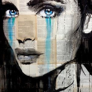 (CreativeWork) EVENTUALLY by loui jover. drawing. Shop online at Bluethumb.