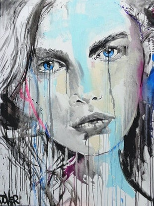 (CreativeWork) BITS n PIECES by loui jover. Mixed Media. Shop online at Bluethumb.