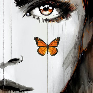 (CreativeWork) TANGERINE DREAM by loui jover. mixed-media. Shop online at Bluethumb.