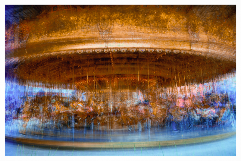 (CreativeWork) Merry Go Round by Joseph Remi d'Argent. photograph. Shop online at Bluethumb.