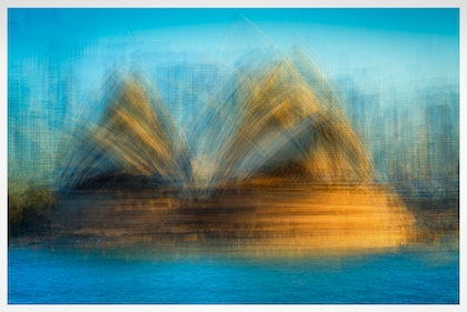(CreativeWork) Sydney Opera House by Joseph Remi d'Argent. photograph. Shop online at Bluethumb.