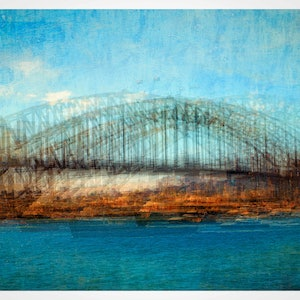 (CreativeWork) Sydney Harbour Bridge Ed. 3 of 40 by Joseph Remi d'Argent. photograph. Shop online at Bluethumb.