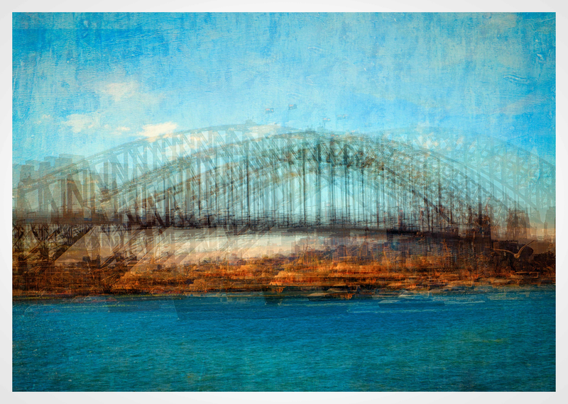 (CreativeWork) Sydney Harbour Bridge by Joseph Remi d'Argent. photograph. Shop online at Bluethumb.
