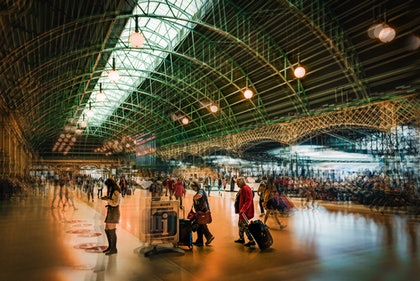 (CreativeWork) Sydney Central Station by Joseph Remi d'Argent. photograph. Shop online at Bluethumb.