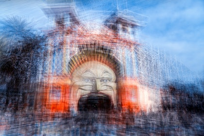(CreativeWork) Going to The Luna Park 2- by Joseph Remi d'Argent. photograph. Shop online at Bluethumb.