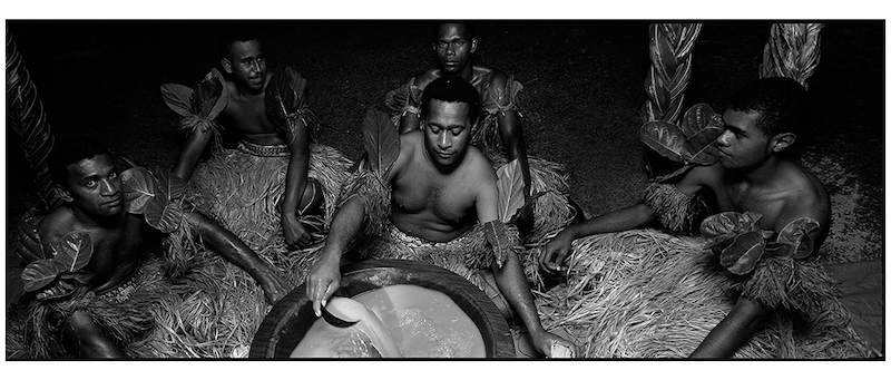 (CreativeWork) P 040 Kava Ceremony Fiji Island by Peter Henning. photograph. Shop online at Bluethumb.