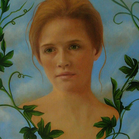 (CreativeWork) Daphne by sophie haythornthwaite. Oil Paint. Shop online at Bluethumb.