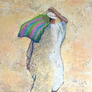 (CreativeWork) Going home by Marijke Lambregtse. mixed-media. Shop online at Bluethumb.