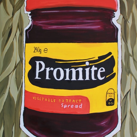 (CreativeWork) Promite  by Rebecca Read. Oil Paint. Shop online at Bluethumb.