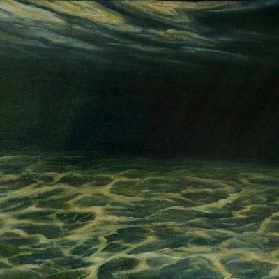 (CreativeWork) Dancing Sands by Catherine Stringer. Oil Paint. Shop online at Bluethumb.