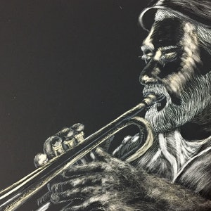 (CreativeWork) Musician by Marian Quigley. other-media. Shop online at Bluethumb.