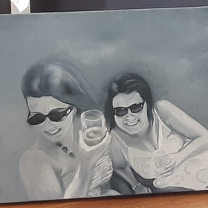(CreativeWork) Commission work  by Mari Anthi. oil-painting. Shop online at Bluethumb.