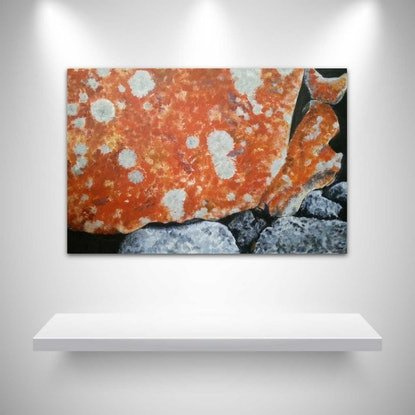 (CreativeWork) OVERLAND 2 by Suzy Strout. Acrylic Paint. Shop online at Bluethumb.