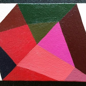 (CreativeWork) Configuration No 7 by Lila Afiouni. arcylic-painting. Shop online at Bluethumb.
