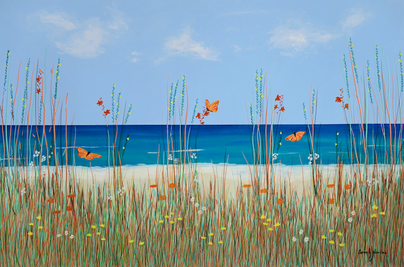 (CreativeWork) Life's A Beach 2 by Barry Johnson. other-media. Shop online at Bluethumb.