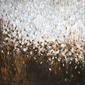 (CreativeWork) Salt of the Earth by Belinda Nadwie. oil-painting. Shop online at Bluethumb.