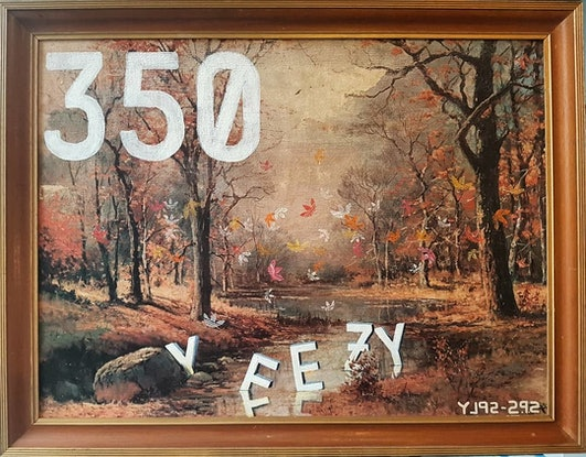 (CreativeWork) Yeego Boost/ What the Seasons Change by Sam Patterson-Smith. Acrylic Paint. Shop online at Bluethumb.
