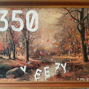 (CreativeWork) Yeego Boost/ What the Seasons Change by Sam Patterson-Smith. arcylic-painting. Shop online at Bluethumb.
