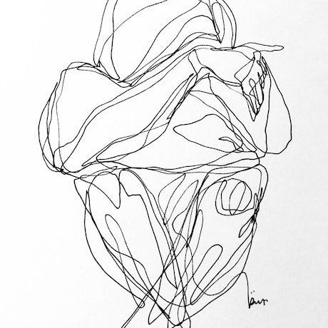 (CreativeWork) Don't Let Go - Sorrow by Irma Calabrese. Drawings. Shop online at Bluethumb.