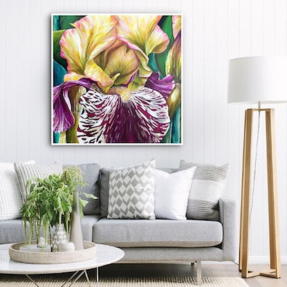 (CreativeWork) Majestic Glory  by Treena Seymour. Acrylic Paint. Shop online at Bluethumb.