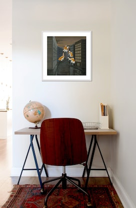 (CreativeWork) Goldfish (incl. frame) Ed. 4 of 75 by Patricia Van Lubeck. Reproduction Print. Shop online at Bluethumb.