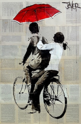 (CreativeWork) JUST RIDE SHE SAID by loui jover. Drawings. Shop online at Bluethumb.