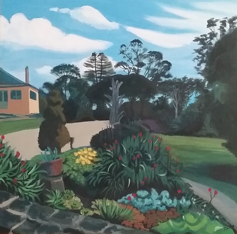 (CreativeWork) Eurumbeen  Garden 2 by Dawn Lim. arcylic-painting. Shop online at Bluethumb.