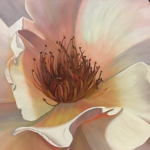 (CreativeWork) Summer Glow - now $833 - 15% off June Sale by Patricia Hillard. arcylic-painting. Shop online at Bluethumb.